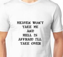 Heaven Hell Unisex T-Shirt