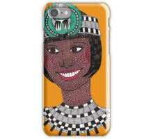 Cigarette Girl  iPhone Case/Skin