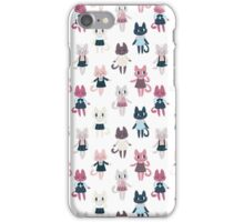 Cute Fashion Kitties iPhone Case/Skin