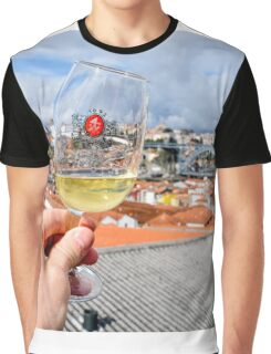 Port in the Porto skyline Graphic T-Shirt