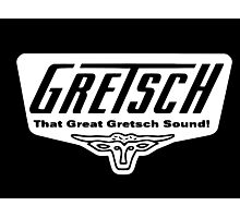 GRETSCH GUITAR Photographic Print
