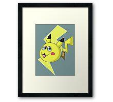 Pikachu In Training  Framed Print