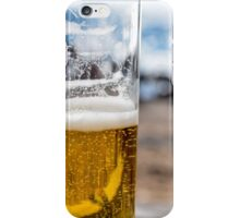 Beer on the beach, Porto iPhone Case/Skin