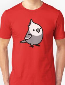 Chubby White Face Cockatiel Unisex T-Shirt