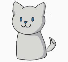 Marshmallow Kitty One Piece - Short Sleeve