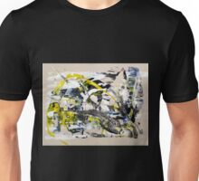 Yet Another Day in the Life, Original mixed media Abstract painting Unisex T-Shirt