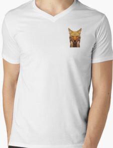 Polygon Coyote Prints Mens V-Neck T-Shirt