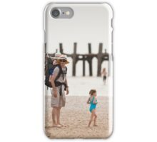 Family On Beach iPhone Case/Skin