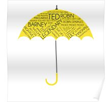 How I Met Your Mother - Yellow Umbrella  Poster