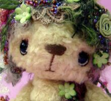 Handmade bears from Teddy Bear Orphans - Fayette fairy Sticker