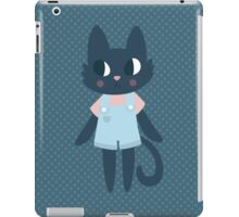 Cute Kitty In Dungarees iPad Case/Skin