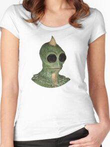 Sleestak - Land of the Lost fan art Women's Fitted Scoop T-Shirt