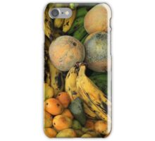 Exotic Fruits at the Market iPhone Case/Skin
