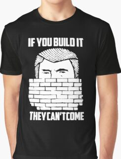 Wall of Trump Graphic T-Shirt
