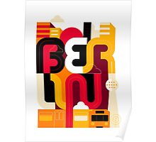 Berlin Typo Poster
