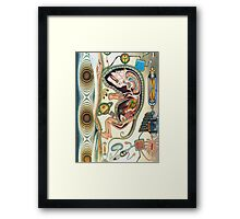 embryo - m. a. weisse Framed Print