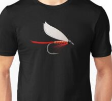Fishing Dry Fly Red Unisex T-Shirt