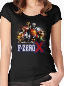 F-ZERO X Women's Fitted Scoop T-Shirt