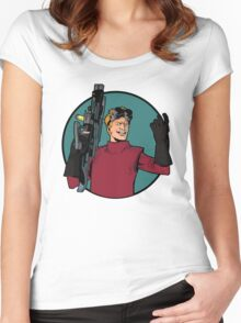 dr h Women's Fitted Scoop T-Shirt