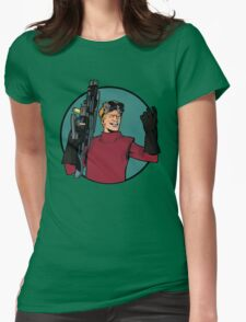 dr h Womens Fitted T-Shirt