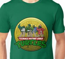Teenage Mutant Cholo Turtles - Sewer version Unisex T-Shirt
