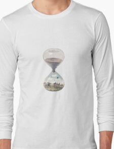 The City Where Time Stopped Long Ago Long Sleeve T-Shirt