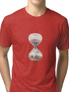 The City Where Time Stopped Long Ago Tri-blend T-Shirt