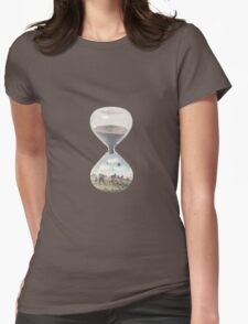 The City Where Time Stopped Long Ago Womens Fitted T-Shirt