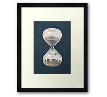 The City Where Time Stopped Long Ago Framed Print