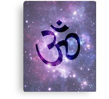 Ohm -Space Background Canvas Print