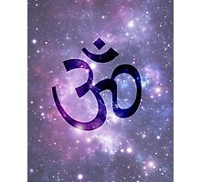 Ohm -Space Background Photographic Print