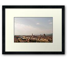 Piazzale Michelangelo - Florenz  Framed Print