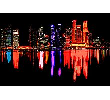 Colorful night Photographic Print