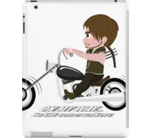 Daryl_On my way to kill some walkers iPad Case/Skin
