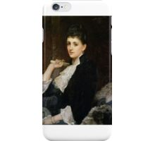 Sir William Blake Richmond - Countess of Airlie iPhone Case/Skin