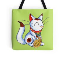 Calico Kitty Tote Bag