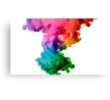 Abstract color paint Canvas Print