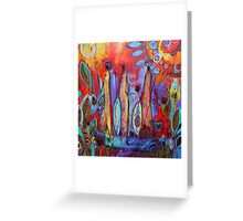 Tribal Africa Greeting Card