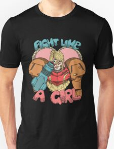 Fight Like A Girl - Samus Aran (Metroit) Unisex T-Shirt