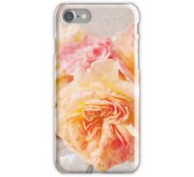 Textured Pastel Rose iPhone Case/Skin