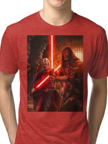 Darth Revan And Darth Malak Tri-blend T-Shirt