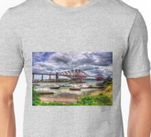 Low Tide in North Queensferry Unisex T-Shirt
