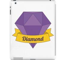 Big cartoon diamond iPad Case/Skin