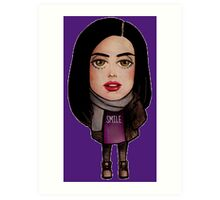 Chibi Jessica Jones Art Print