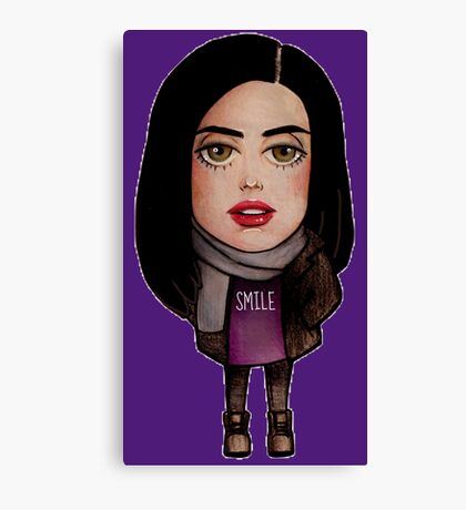 Chibi Jessica Jones Canvas Print