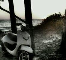 .Beach Cruiser Sticker