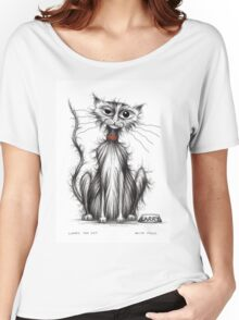 Larry the cat Women's Relaxed Fit T-Shirt