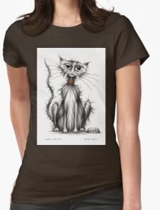Larry the cat Womens Fitted T-Shirt