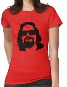 The Dude Abides The Big Lebowski Womens Fitted T-Shirt