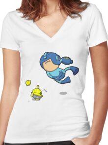 Yea! Lemons! Women's Fitted V-Neck T-Shirt